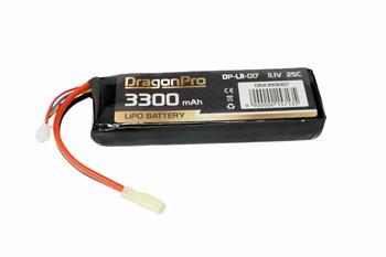 DRAGONPRO 11,1V 3300mAh 25C LiPO 131x42x18mm