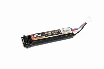 DRAGONPRO 7.4V 550mAh 20C AEP LiPO 80x18x12mm