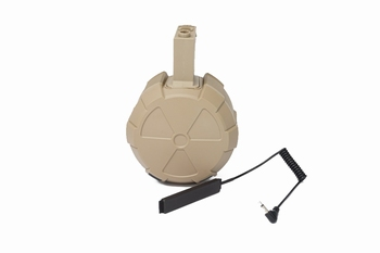 ICS Single Electric Drum Magazine Tan