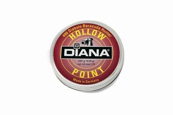 Diana Diabolo Hollow point 4,5mm/.177