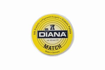 Diana Diabolo Match 4,5mm/.177