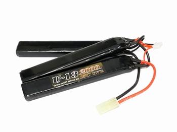 U-13 LiPo 11,1v 2000mAh 15C Stick/Nunchuck