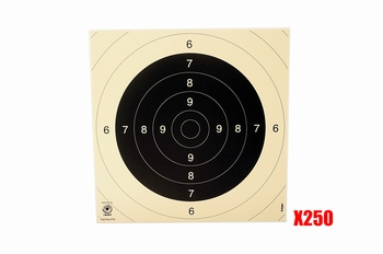 Kruger Target 26x26cm 250 stuks