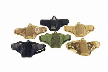 Cobra Steel Mesh Mask Soft with Helmet clips