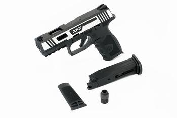 ICS BLE-XFG Gas Blowback Pistol Two-Tone SLBK