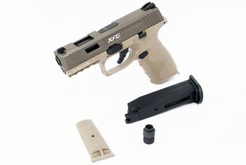 ICS BLE-XFG Gas Blowback Pistol Tan