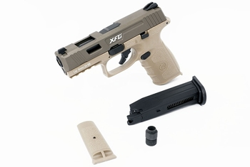 ICS BLE-XFG Gas Blowback Pistol Tan