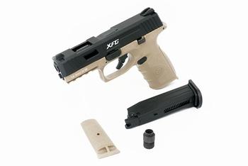 ICS BLE-XFG Gas Blowback Pistol Two-Tone BKTN