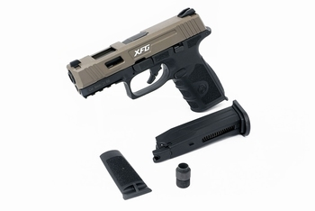 ICS BLE-XFG Gas Blowback Pistol Two-Tone TNBK