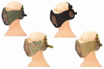 ASG Metal Mesh Mask met Mesh oorbescherming