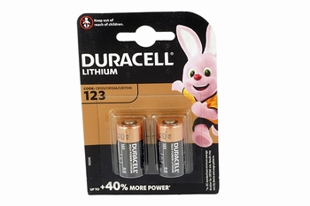 Duracell Duo CR123A