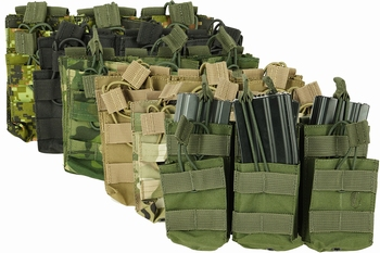 Shadow Strategic Stacker Open-Top M4 Mag Pouch Triple