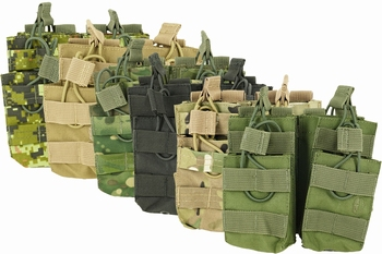 Shadow Strategic Stacker Open-Top M4 Mag Pouch Double