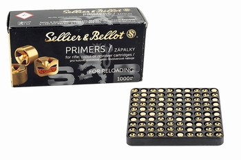 Sellier & bellot Primer Small pistol 4,4mm Boxer 1000Pcs