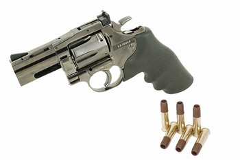 Dan Wesson 715 2.5 inch Revolver Steel Grey CO2