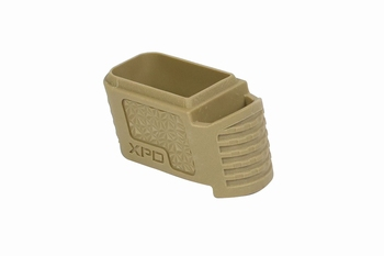 ICS XPD Extended Magazine Grip Cover-TAN
