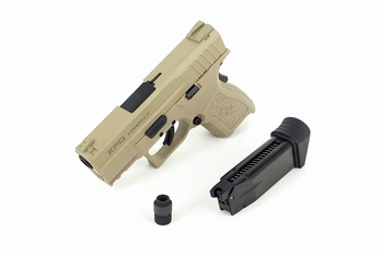 ICS BLE-XPD Gas Blowback Pistol Tan