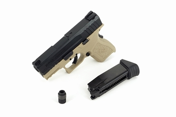 ICS BLE-XPD Gas Blowback Pistol Two-Tone BKTN