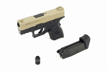 ICS BLE-XPD Gas Blowback Pistol Two-Tone TNBK