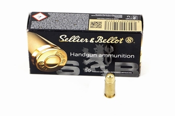 Sellier & bellot 9mm kort (.380 auto)  92gr FMJ