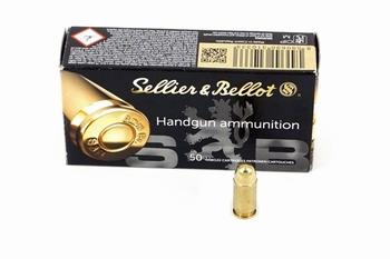 Sellier & bellot 9mm kort (.380 auto)  92gr FMJ
