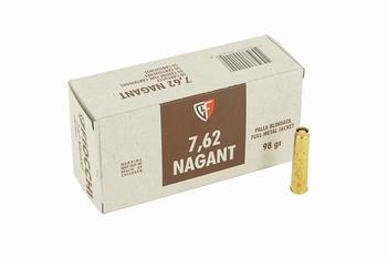 Fiocchi 7,62 nagant FMJ 98 grain (50 stuks)