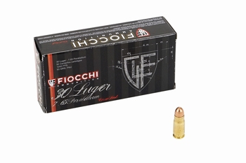 Fiocchi 7,65 Parabellum 93Grain FMJ (50stuks)