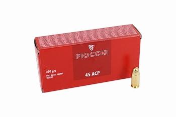 Fiocchi .45ACP FMJ RN 230 Grain