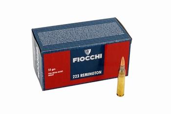 Fiocchi .223 Remington FMJ 55Grain