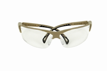 Strike Systems Tan Goggles Clear