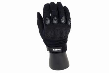 Cobra Hard Knuckle Gloves Black