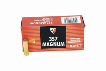 Fiocchi .357 magnum LWC 148gr 50 rds