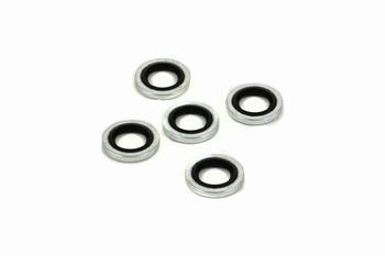 Best Fittings 1/8 Inch BSP Bonded Seal Washers 5 Pieces