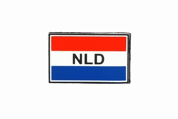 PVC NLD Patch Met Klitteband