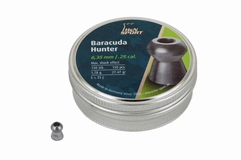 H&N Baracuda Hunter 6.35mm / .25 cal.