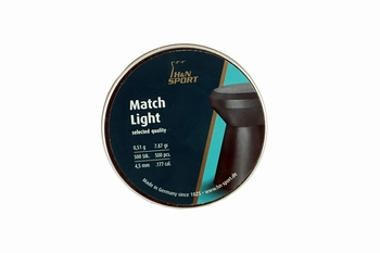 H&N Match Light 4,5mm / .177 cal.