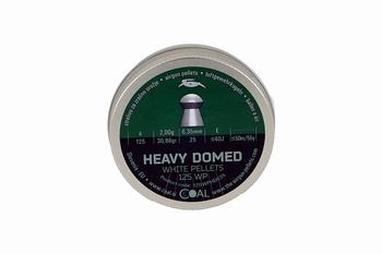 Coal Heavy Domed 125 WP 6,35mm