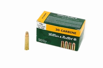 Sellier & Bellot .30 Carbine FMJ (50Pcs)