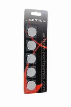 ASG lithium CR2032 (3V) 5-Pack
