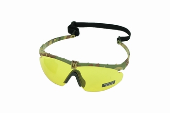 Nuprol Battle Pro's Multicam Frame Yellow Lens