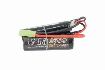U-13 Li-ion 7,4v 2700mAh 25C Stick/Nunchuck