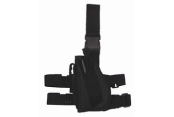 MFH beenholster Links nylon zwart