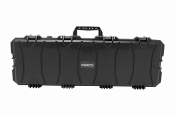 DRAGONPRO Waterproof Rifle Case 100x35x14cm Black