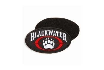 Blackwater Logo Iron on (large)
