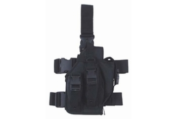 MFH Tactical Leg Holster Right nylon black