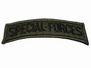 Badge Special forces tekst