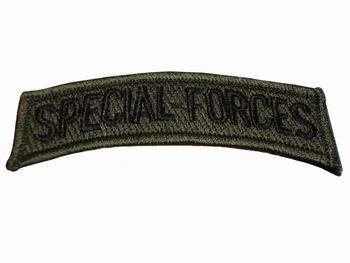 Badge Special forces tekst