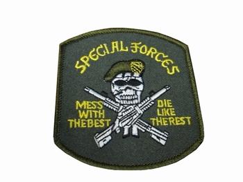 Badge Special forces met doodskop