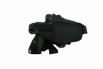 MFH adjustable leg holster right black
