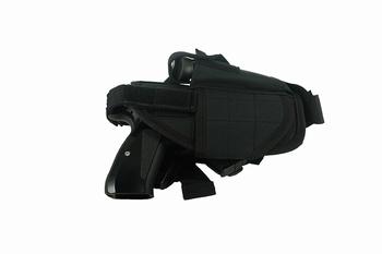 MFH adjustable leg holster right black